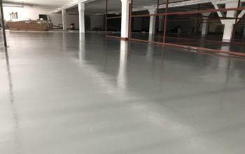 коммерческий бетонный пол