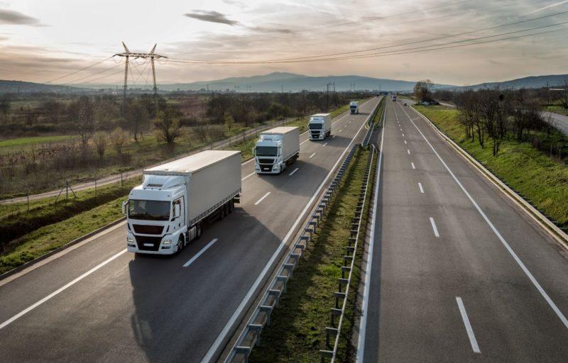 Различные виды грузового транспорта